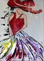 Brigitte-Koelli-People-Women-People-Modern-Age-Concrete-Art