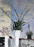 Brigitte-Koelli-Plants-Flowers-Still-life-Modern-Age-Abstract-Art