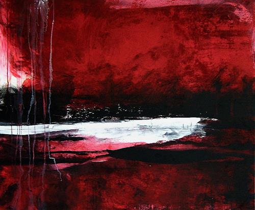 Conny Wachsmann, Weißer See, Abstract art, Modern Age, Expressionism