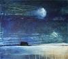 Conny Wachsmann, Bild blau türkis