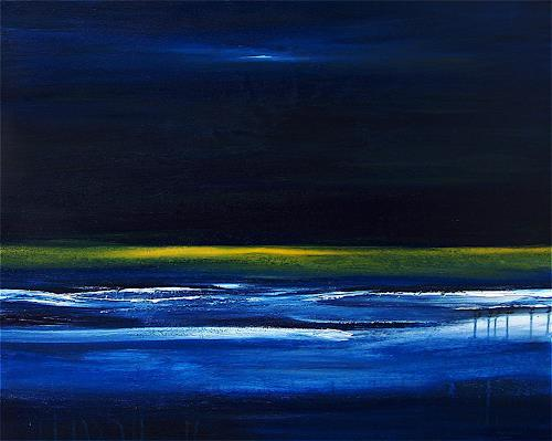 Conny Wachsmann, Bild blau, Abstract art, Miscellaneous Landscapes, Modern Age, Expressionism
