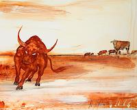 Conny-Wachsmann-Animals-Situations-Modern-Age-Others-New-Figurative-Art