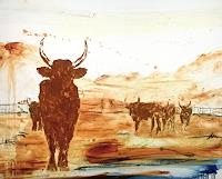 Conny-Wachsmann-Abstract-art-Animals-Land-Modern-Age-Modern-Age