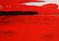 Conny Wachsmann, Rotes Bild - nicht allein