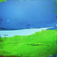 Conny-Wachsmann-Abstract-art-Landscapes-Spring-Modern-Age-Abstract-Art-Action-Painting