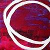 Conny Wachsmann, lila rote Bilder