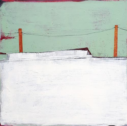 Conny Wachsmann, grünes Bild, Landscapes, Abstract art, Abstract Art
