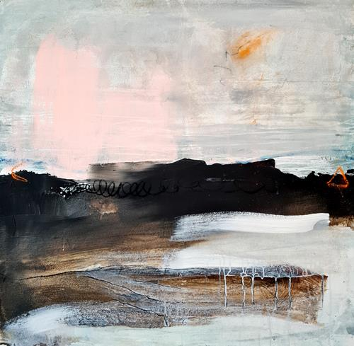 Conny Wachsmann, Auf zum nächsten Zeltplatz, Abstract art, Art Déco, Expressionism
