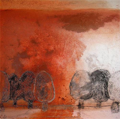Conny Wachsmann, Ein Baum, Abstract art, Expressionism