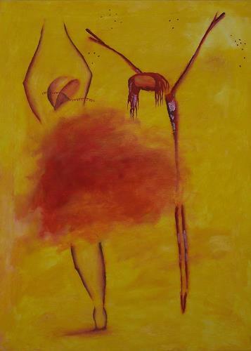 sikis, weeping dancing/płacząc tańcząc/weinend tanzend, Religion, Situations, Contemporary Art, Expressionism