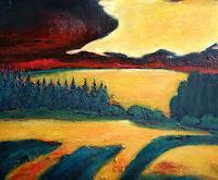 eifelArt-Landscapes-Summer-Romantic-motifs-Sunset-Contemporary-Art-Contemporary-Art