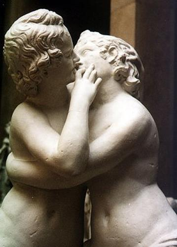 Reinhold Begas, Eros and Psyche, Emotions: Love, People: Children