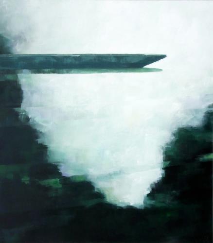 Jürgen Büse Filzen, Beginn einer großen Reise, Landscapes: Sea/Ocean, Verkehr: Ship, Contemporary Art, Expressionism