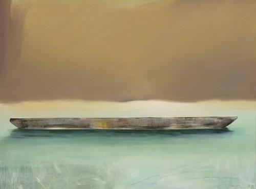 Jürgen Büse Filzen, Einverstanden sein, Verkehr: Ship, Nature, Contemporary Art, Expressionism