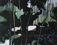 Jürgen Büse Filzen, hinter Bäumen