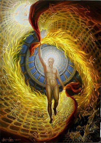 . Angerer der Ältere, Prometheus, Mythology, People: Men, Abstract Expressionism