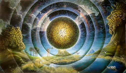 . Angerer der Ältere, Baum der Erkenntnis, Fantasy, Belief, Mannerism