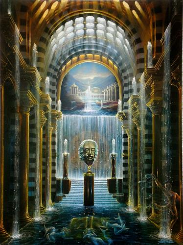 . Angerer der Ältere, Goldene Quell, Fantasy, Architecture, Contemporary Art