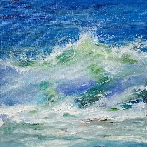 Sabine Schramm, o.T. (191001), Landscapes: Sea/Ocean, Contemporary Art