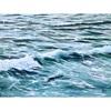 Sabine Schramm, Meer mit Wellen, Landscapes: Sea/Ocean, Contemporary Art