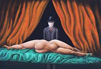 Peter-Hutter-Erotic-motifs-Female-nudes-People-Women-Contemporary-Art-Post-Surrealism