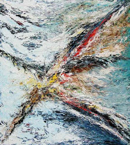 Dierk Osterloh, Schicksal 1, Abstract art, Mythology, Contemporary Art