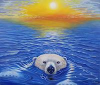 Wolfgang-Rose-Nature-Water-Animals-Water-Modern-Age-Naturalism