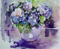 Gilberte-Vermeulen-Plants-Flowers-Modern-Age-Impressionism