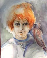 Gilberte-Vermeulen-People-Children-Fantasy-Modern-Age-Expressionism
