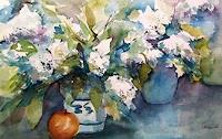 Gilberte-Vermeulen-Plants-Flowers-Plants-Flowers-Modern-Age-Impressionism