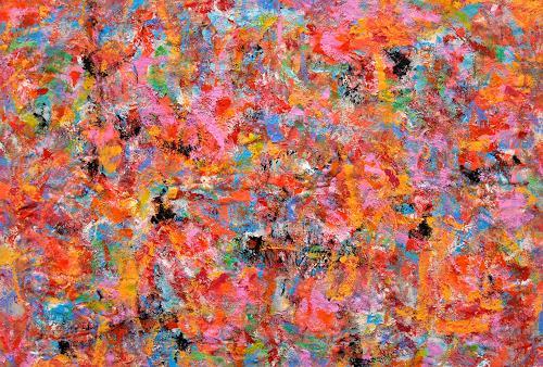Jens Jacobfeuerborn, Farbe sucht sich Ihren Weg, Abstract art, Abstract Art