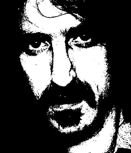 Jens Jacobfeuerborn, Frank Zappa, People: Portraits, Music: Musicians, Pop-Art, Abstract Expressionism