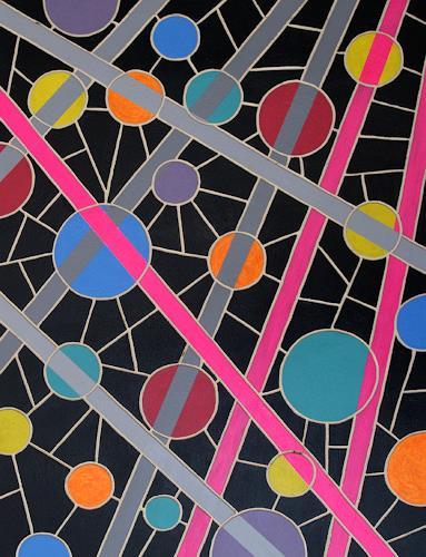 Jens Jacobfeuerborn, O.T. (Holzdruckstock), Abstract art, Fantasy, Pop-Art
