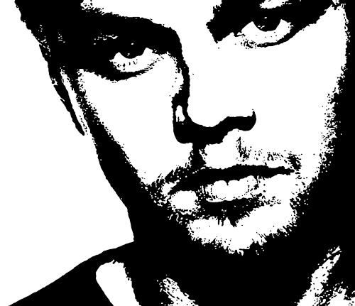 Jens Jacobfeuerborn, Leonardo DiCaprio, People: Faces, People: Portraits, Pop-Art
