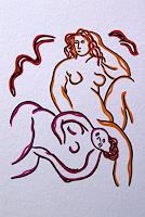 Jens-Jacobfeuerborn-Erotic-motifs-Female-nudes-Decorative-Art-Modern-Age-Modern-Age