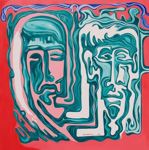 Jens Jacobfeuerborn, Die Erscheinung, People: Faces, People: Men