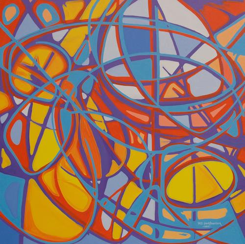 Jens Jacobfeuerborn, ein christliches Bild, Abstract art, Fantasy, Contemporary Art