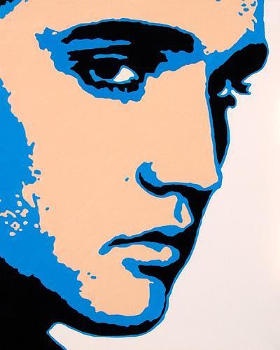 Jens Jacobfeuerborn, Elvis Presley, People: Portraits, Pop-Art