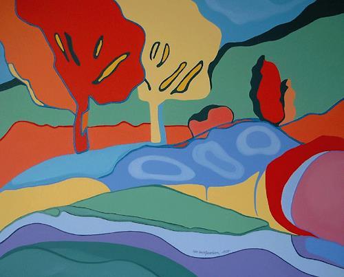 Jens Jacobfeuerborn, Im Park 2, Miscellaneous Landscapes