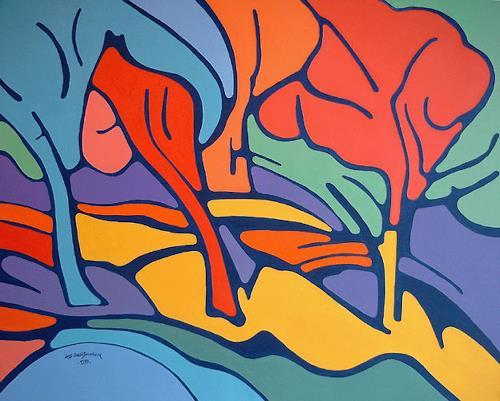 Jens Jacobfeuerborn, Im Park 1, Miscellaneous Landscapes, Contemporary Art