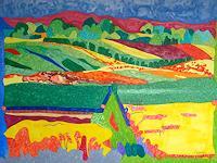 Jens-Jacobfeuerborn-Landscapes-Hills-Fantasy-Contemporary-Art-Contemporary-Art