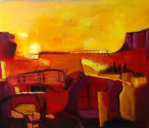 Ilona Felizitas Hetmann, Landschaft, Abstract art, Abstract Art
