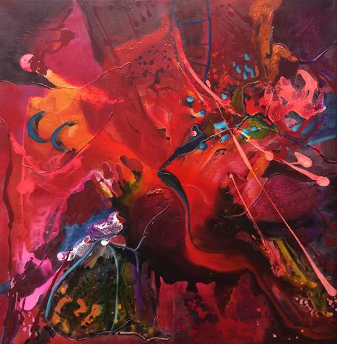 Ilona Felizitas Hetmann, Energie, Abstract art, Leisure, Abstract Art, Abstract Expressionism