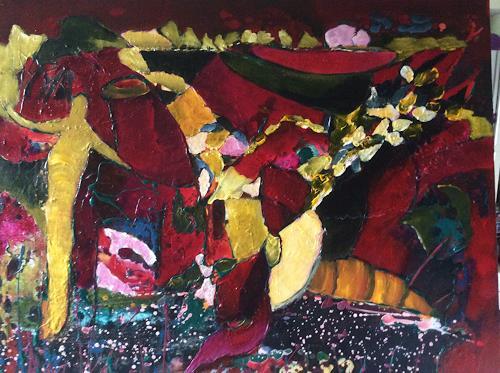 Ilona Felizitas Hetmann, N/T, Landscapes: Mountains, Abstract Art