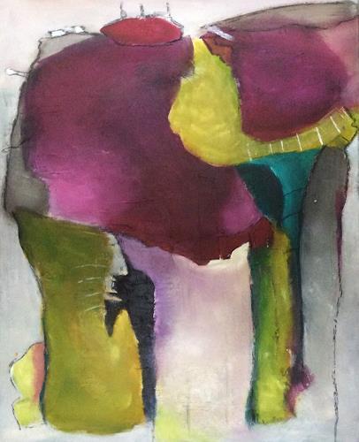 Ilona Felizitas Hetmann, Verbindungen, Miscellaneous Romantic motifs, Abstract Expressionism