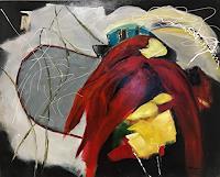 Ilona-Felizitas-Hetmann-Landscapes-Mountains-Modern-Age-Abstract-Art-Non-Objectivism--Informel-