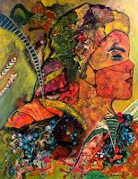 Ilona-Felizitas-Hetmann-People-Women-People-Portraits-Modern-Age-Abstract-Art