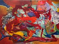 Ilona-Felizitas-Hetmann-Abstract-art-Emotions-Joy-Modern-Age-Abstract-Art-Action-Painting