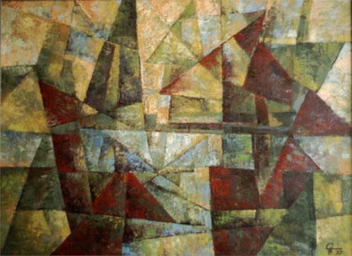 EMSARO, Idylle, Abstract art, Bauhaus