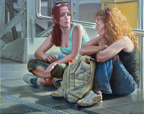 """MarianaS, """"Unterwegs durch den Sommer"""", People: Women, Leisure, Realism"""